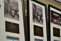 Recognition Frames from the City of Angels Fun Ride Donation Event. Photo by Kosal Taing