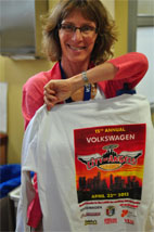 Dr. Linda Baum at the City of Angels Fun Ride Donation Event. Photo by Kosal Taing