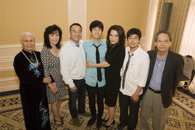 The Ho Family at the UCLA Blood & Platelet Center Donor Recognition Luncheon