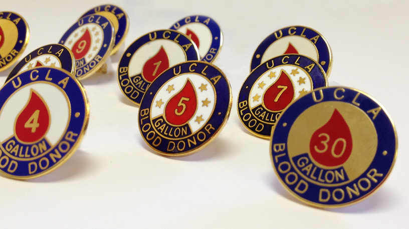 Receive a Donor Pin When You Donate Blood and Platelets
