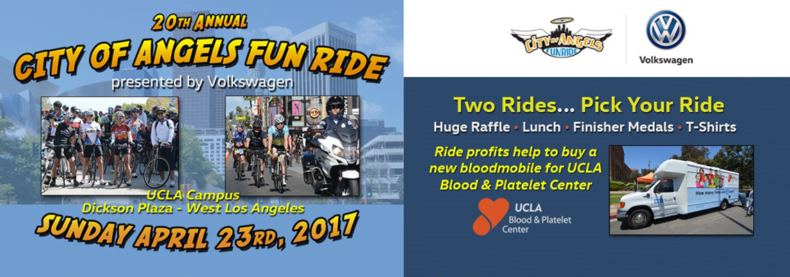 City of Angels Fun Ride - Sunday April 23, 2017